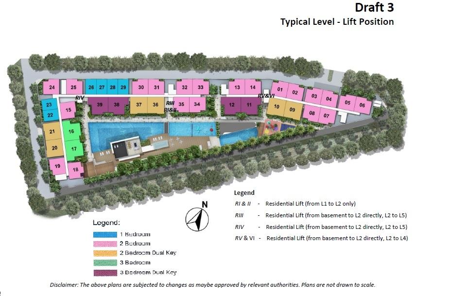 Freehold Kensington Square Mixed Development