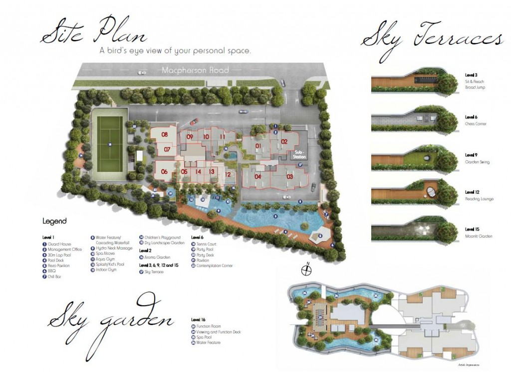 Sky Green Site Plan